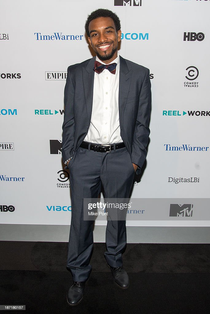 Ishmael 'Ish' Islam attends the REEL WORKS 2013 benefit gala at The Edison Ballroom on November 6, 2013 in New York City.