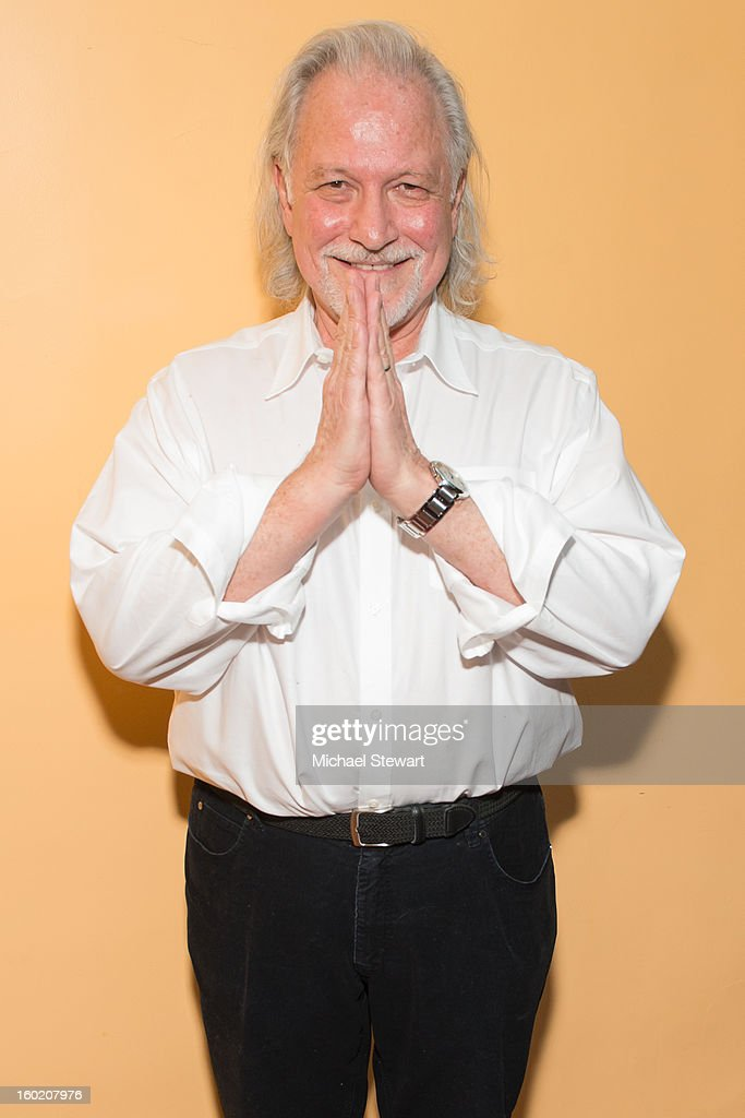 Ishta Yoga founger Yogi Alan Finger attends the Yoga Freedom project at Dharma Yoga Center on January 27, 2013 in New York City.