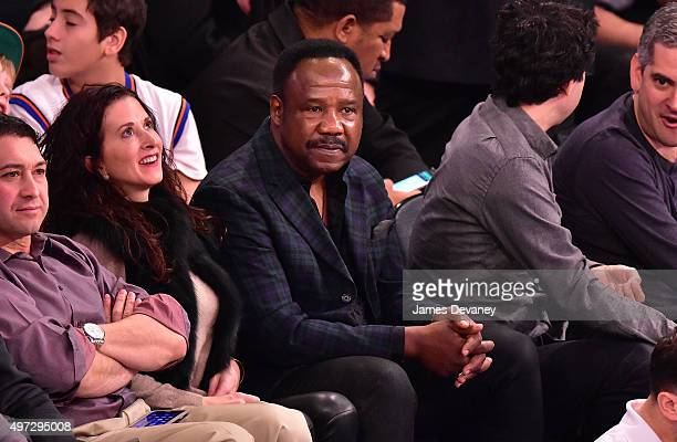 Isiah Whitlock attends New York Knicks vs New Orleans Pelicans game at Madison Square Garden on November 15 2015 in New York City