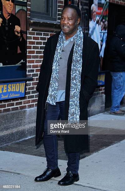 Isiah Whitlock Jr arrives for the 'Late Show with David Letterman' at Ed Sullivan Theater on February 11 2015 in New York City