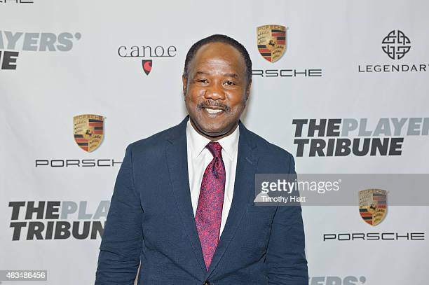 Isiah Whitlock Jr attends The Players' Tribune Launch Party wwwtheplayerstribunecom at Canoe Studios on February 14 2015 in New York City