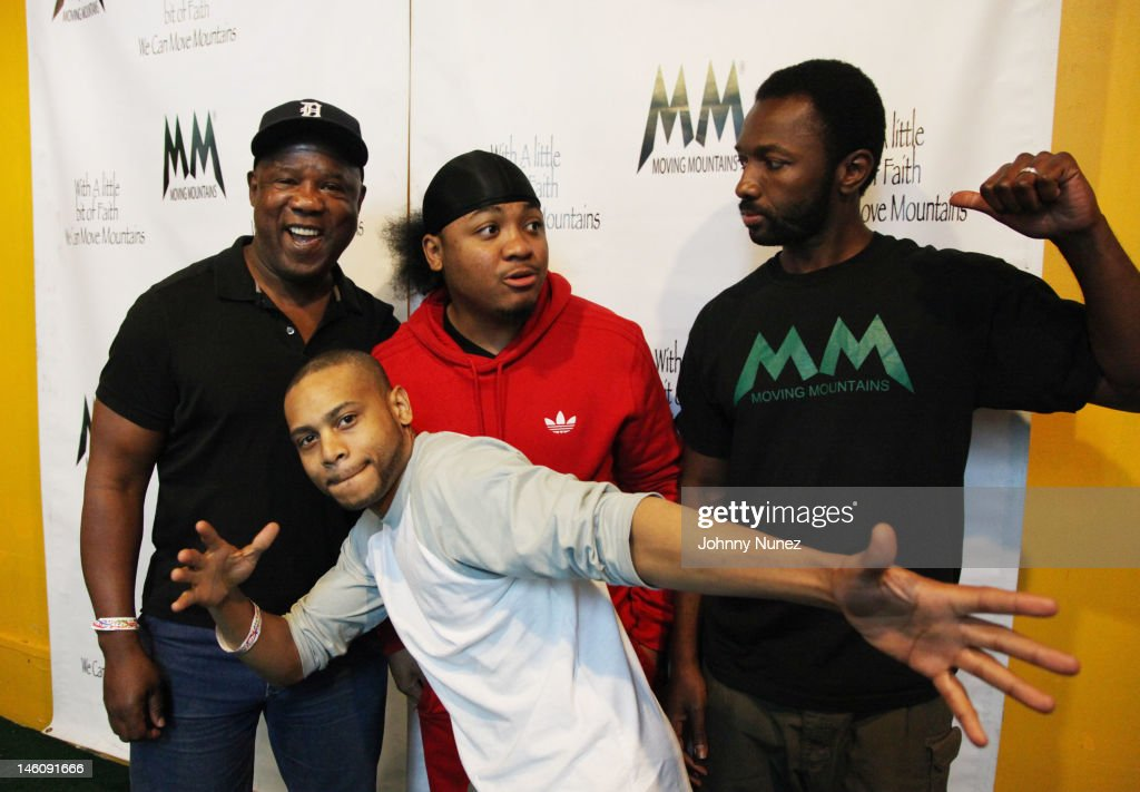 <a gi-track='captionPersonalityLinkClicked' href=/galleries/search?phrase=Isiah+Whitlock+Jr.&family=editorial&specificpeople=657646 ng-click='$event.stopPropagation()'>Isiah Whitlock Jr.</a>, <a gi-track='captionPersonalityLinkClicked' href=/galleries/search?phrase=JD+Williams&family=editorial&specificpeople=2482866 ng-click='$event.stopPropagation()'>JD Williams</a>, Julito McCullum and <a gi-track='captionPersonalityLinkClicked' href=/galleries/search?phrase=Jamie+Hector&family=editorial&specificpeople=666307 ng-click='$event.stopPropagation()'>Jamie Hector</a> attend the Moving Mountains Celebrity Paintball Tournament at NYC Paintball And Laser Tag on June 9, 2012 in New York City.