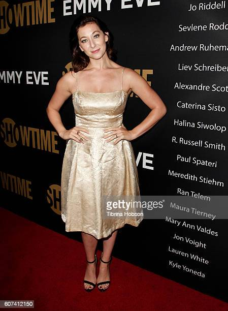 Isidora Goreshter attends the Showtime Emmy Eve Party at Sunset Tower on September 17 2016 in West Hollywood California