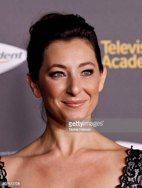 Isidora Goreshter attends the Television Academy reception for Emmy Nominees at Pacific Design Center on September 16 2016 in West Hollywood...