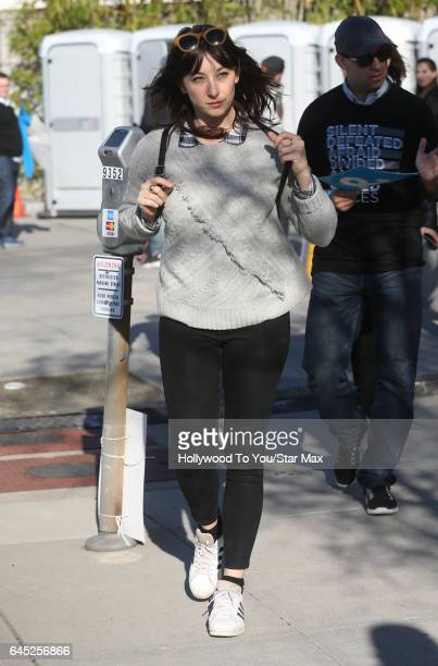 Isidora Goreshter is seen on February 24 2017 in Los Angeles CA
