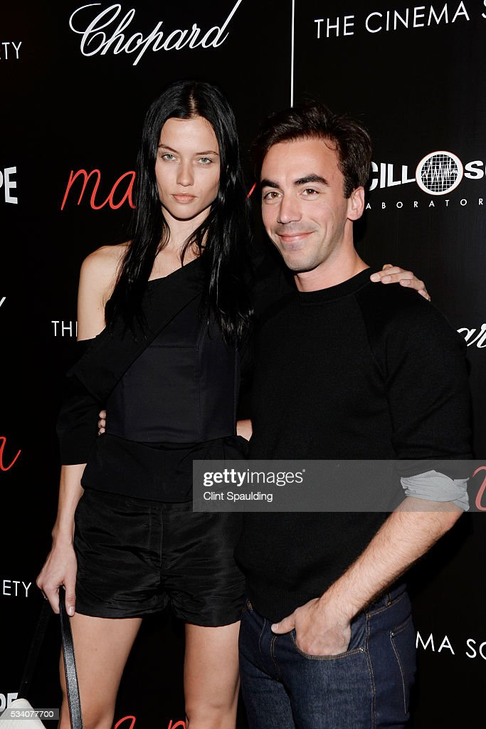 Isis and Fernando Garcia attend The Cinema Society and Chopard Host a Screening of Oscilloscope's 'ma ma' at Landmark Sunshine Theatre on May 24, 2016 in New York City.