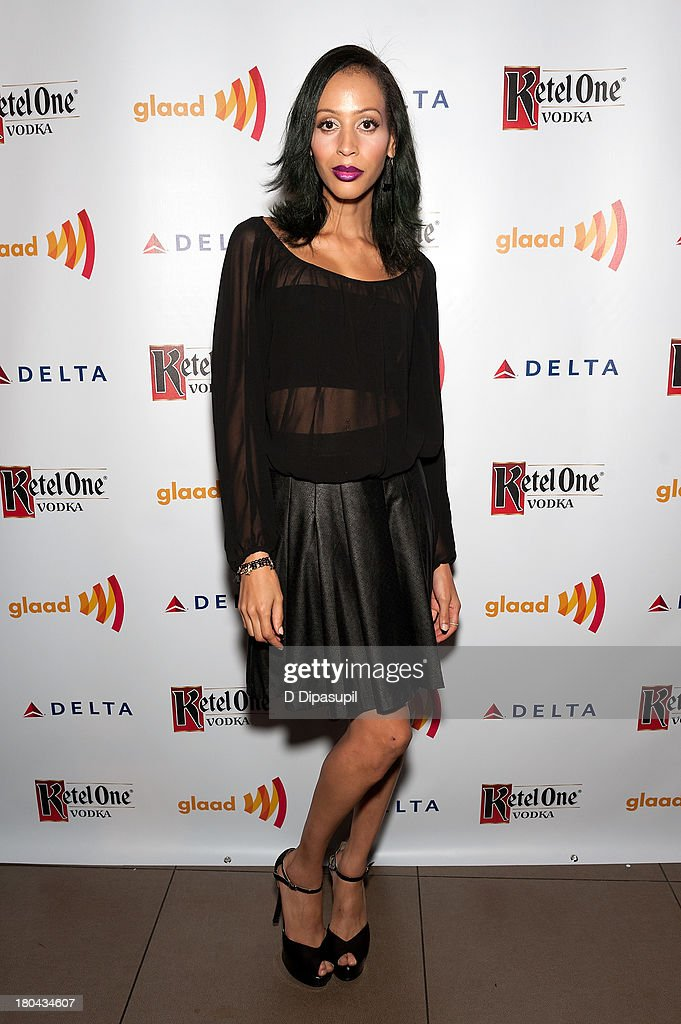 Isis King attends the GLAAD Manhattan Summer 2013 Benefit at Gansevoort Park Avenue on September 12, 2013 in New York City.