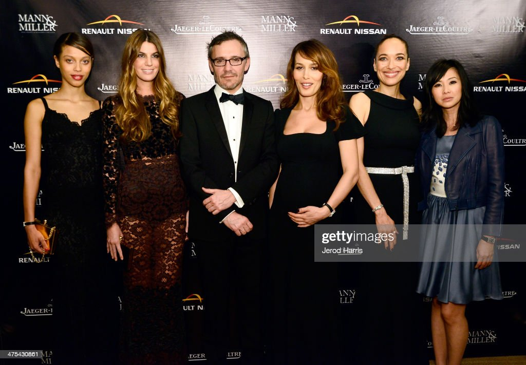 Isis Samassa Bianca Brandolini d'Adda Laurent Vinay Dolores Chaplin Carmen Chaplin and Linh Dan Pham attend a private screening and intimate dinner...
