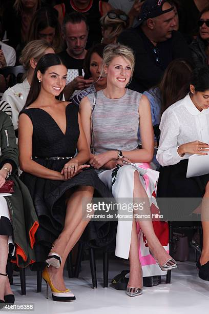 Isis Valverde attends the Christian Dior show as part of the Paris Fashion Week Womenswear Spring/Summer 2015 on September 26 2014 in Paris France