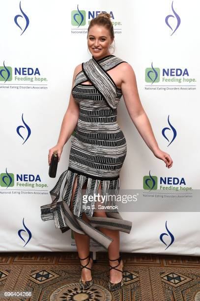 Iskra Lawrence attends the 15th Annual Benefit Gala 'An Evening Unmasking Eating Disorders