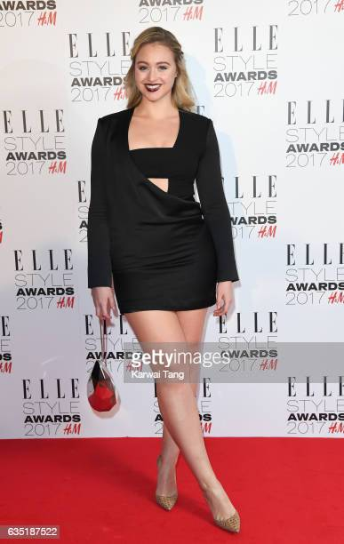 Iskra Lawrence attends the Elle Style Awards 2017 on February 13 2017 in London England