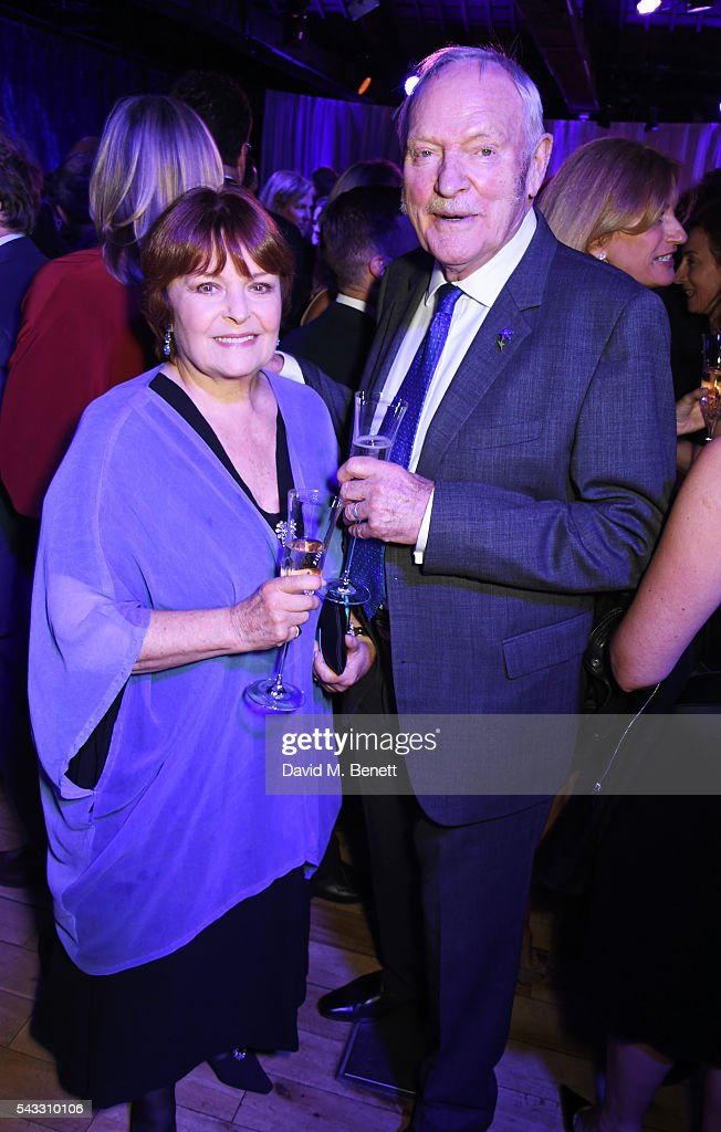 Isla Blair (L) and <a gi-track='captionPersonalityLinkClicked' href=/galleries/search?phrase=Julian+Glover&family=editorial&specificpeople=604137 ng-click='$event.stopPropagation()'>Julian Glover</a> attend the Summer Gala for The Old Vic at The Brewery on June 27, 2016 in London, England.