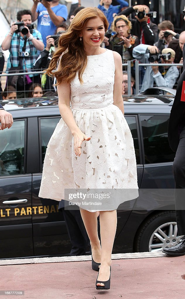 Isla Fisher attends day 1 of the 66th Annual Cannes Film Festival on May 15, 2013 in Cannes, France.