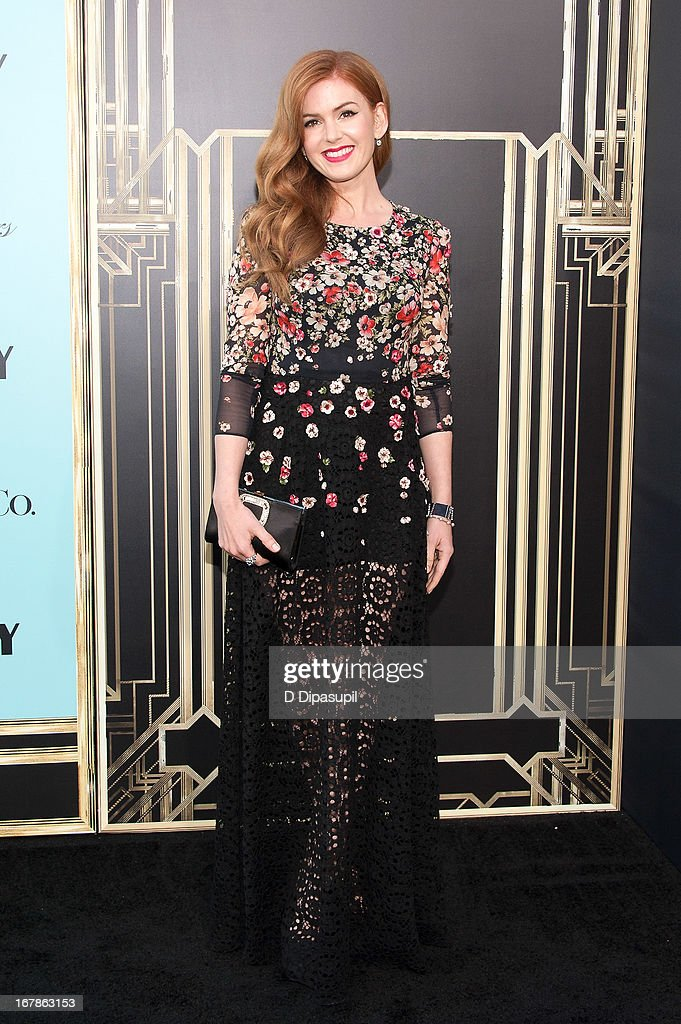 Isla Fisher attends 'The Great Gatsby' world premiere at Alice Tully Hall at Lincoln Center on May 1, 2013 in New York City.