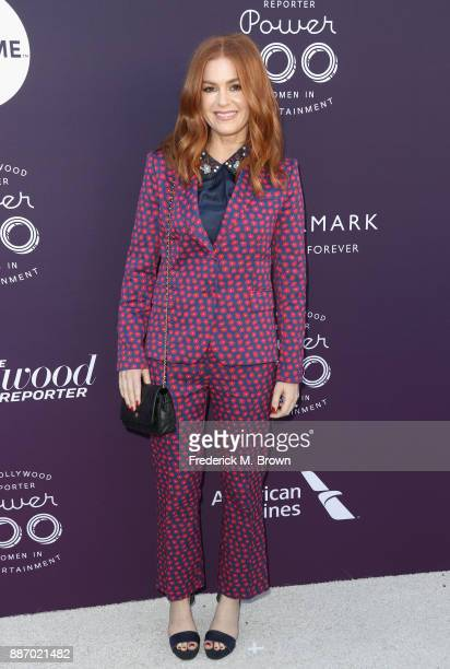 Isla Fisher attends The Hollywood Reporter's 2017 Women In Entertainment Breakfast at Milk Studios on December 6 2017 in Los Angeles California