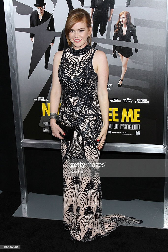 Isla Fisher attends the 'Now You See Me' New York Premiere at AMC Lincoln Square Theater on May 21, 2013 in New York City.