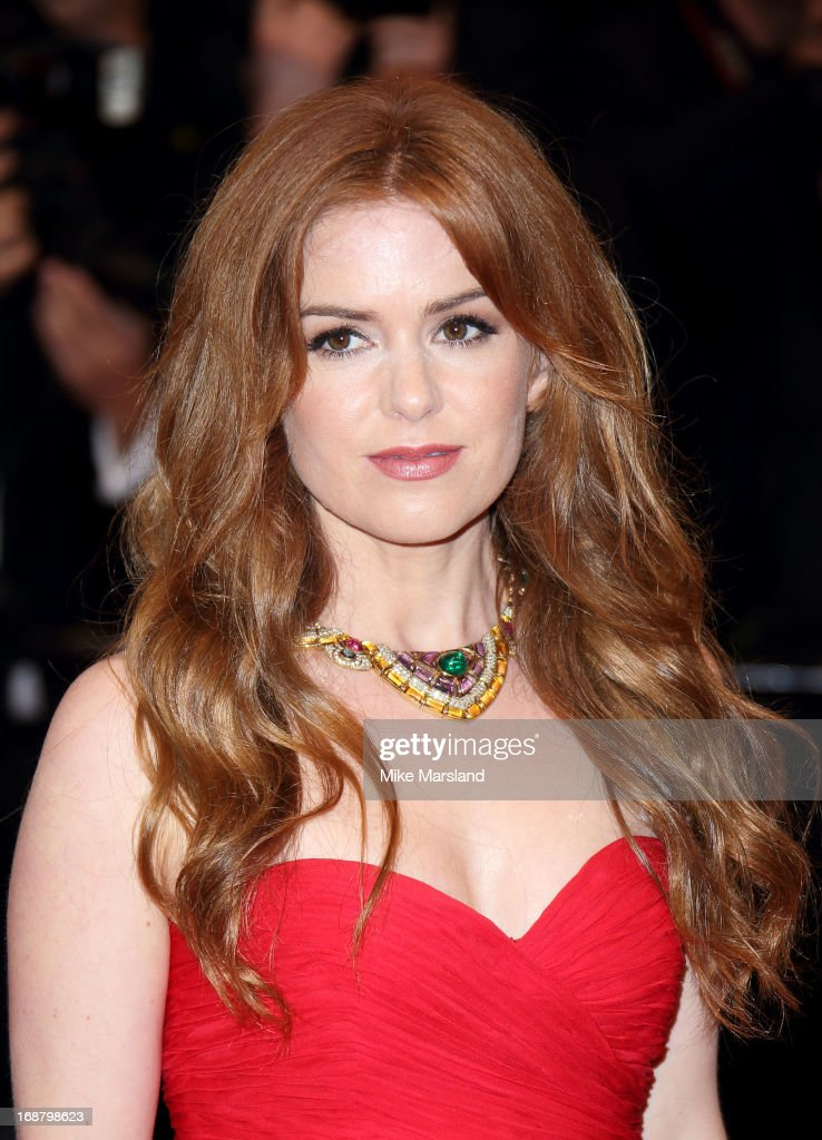 Isla Fisher attends the Opening Ceremony and Premiere of 'The Great Gatsby' at The 66th Annual Cannes Film Festival at Palais des Festivals on May 15, 2013 in Cannes, France.