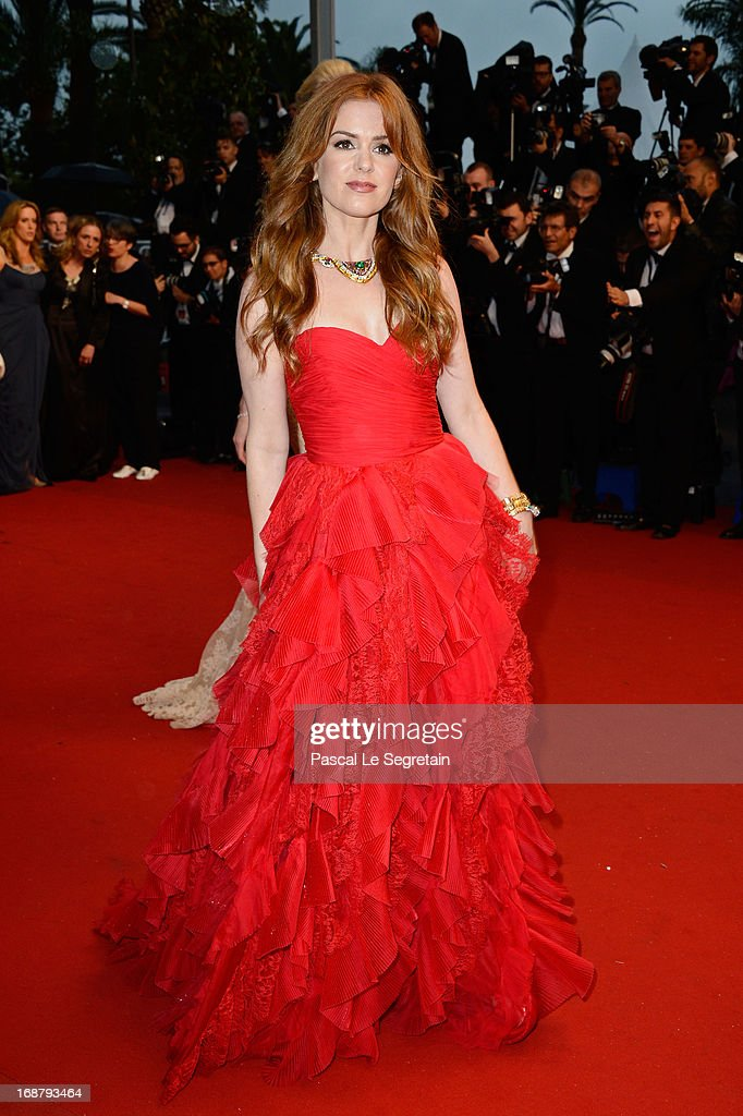 Isla Fisher attends the Opening Ceremony and 'The Great Gatsby' Premiere during the 66th Annual Cannes Film Festival at the Theatre Lumiere on May 15, 2013 in Cannes, France.
