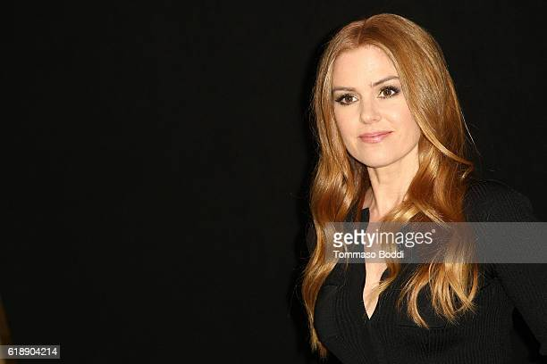 Isla Fisher attends the photo call for Focus Features' 'Nocturnal Animals' at Four Seasons Hotel Los Angeles at Beverly Hills on October 28 2016 in...