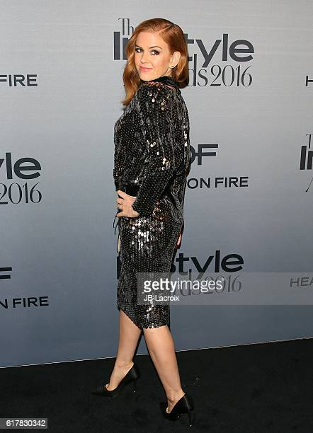 Isla Fisher attends the second annual 'InStyle Awards' presented by InStyle at the Getty Center on October 24 2016 in Los Angeles California