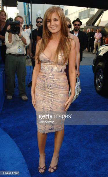 Isla Fisher during 2006 MTV Movie Awards Red Carpet at Sony Studios in Culver City California United States