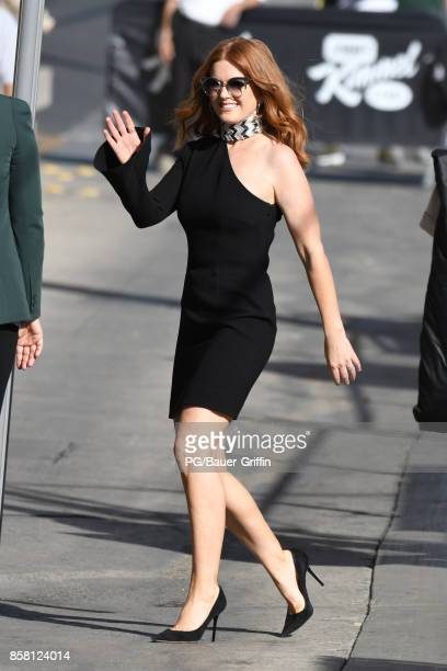 Isla Fisher is seen on October 05 2017 in Los Angeles California