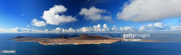 Isla Graciosa, Mirador del río, Lanzarote : Stock Photo