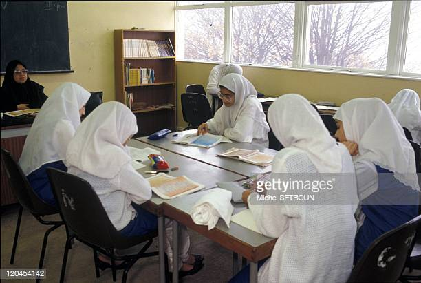 Islam in United Kingdom In a public school playground in Batley during recess The Zacharia Girl's school a junior high Islamic school for young girls...