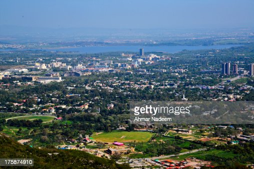 Islamabad - view from Margalla Hills