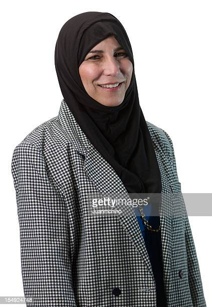 Islamic fifty something woman