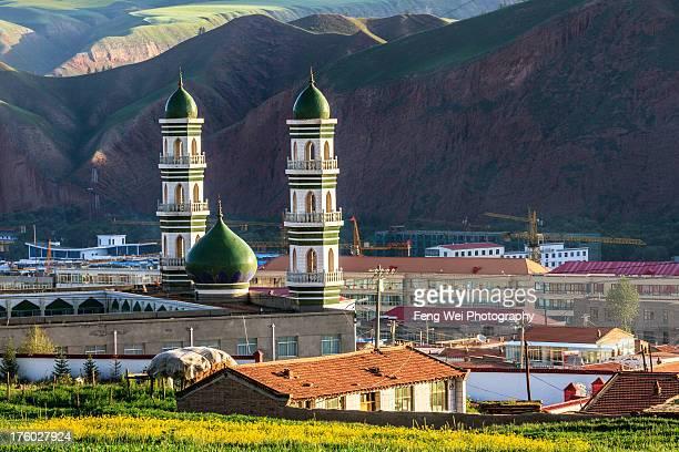 Islamic Mosque, Qilian, Qinghai China