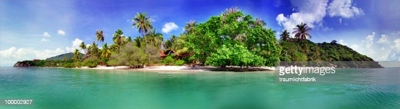 Island in the sun : Stock Photo