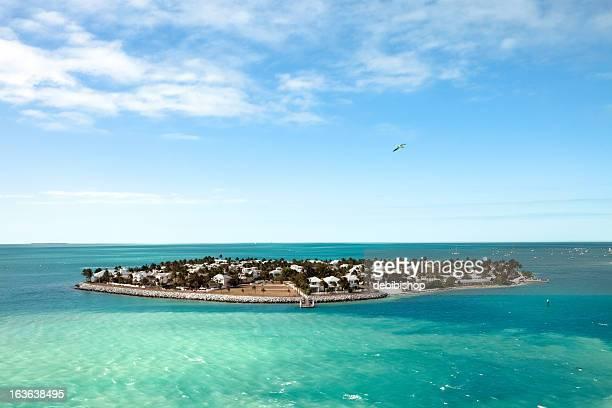 Island In The Turquoise Caribean Sea Near Cozumel, Mexico