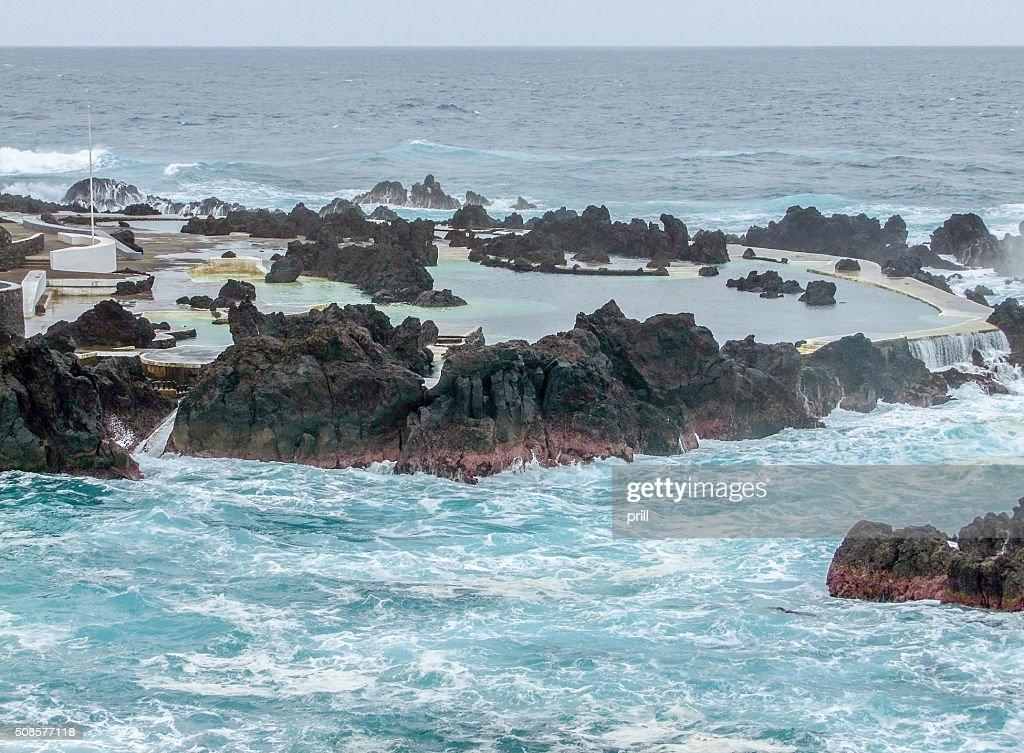 Island named Madeira : Stock Photo