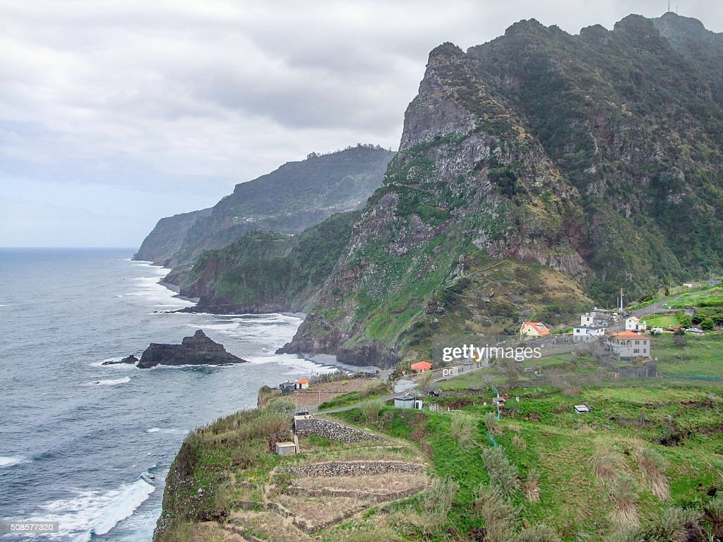 Island named Madeira : Stock Photo
