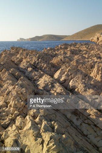 Island of Piskera, Kornati Archipelago, Dalmatia, Croatia : Stock Photo