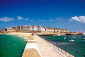 Island of Saint Malo, North Brittany, France