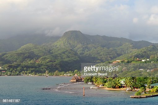 Island of Taha'a, French Polynesia