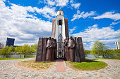 Island of Tears Chapel (Island of Courage and Sorrow) is a memorial dedicated to the Belarusian soldiers who died in Afghanistan in 1979-1989. Island of Tears is located in Minsk, Belarus.