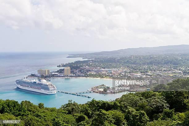 Island Princess Cruise Ship at Ocho Rios Jamaica