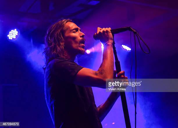 Island recording artist Brandon Boyd of Incubus performs at Island Records Presents Island Life @ SXSW at the Belmont Lounge Featuring Incubus Tove...