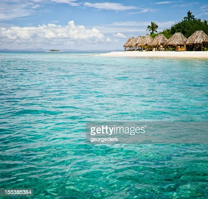 Island Resort from the Sea