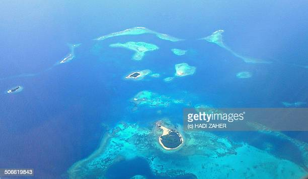 Islands and Reef in Bismarck Sea