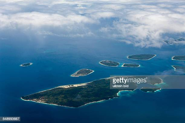 Islands near Sorong Raja Ampat West Papua Indonesia