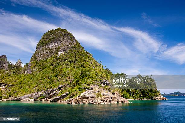 Islands of Misool Raja Ampat West Papua Indonesia