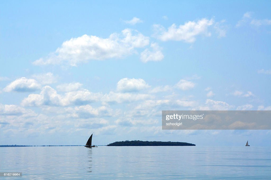 Islands off Zanzibar : Stockfoto