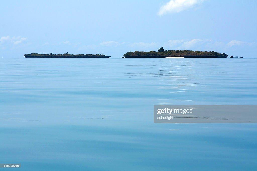 Islands off Zanzibar : Stock Photo