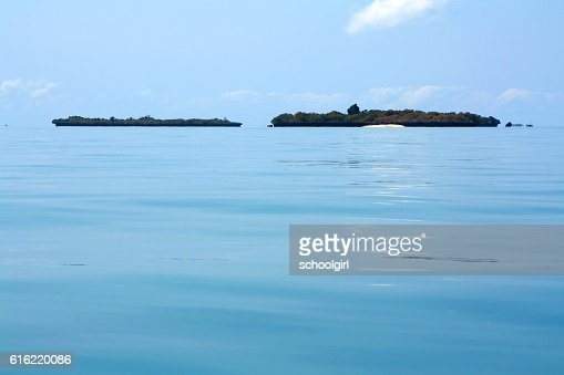 Islands off Zanzibar : Stock Photo