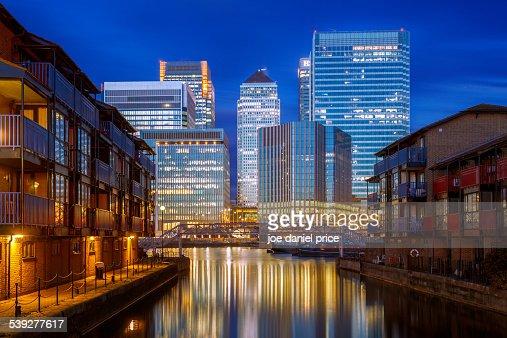 Isle of Dogs, Canary Wharf, London