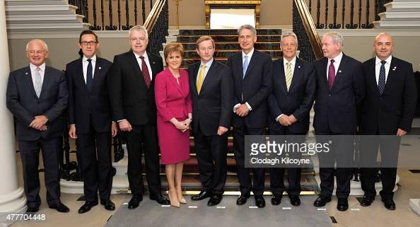 Isle of Man Chief Minister Allan Bell Jersey Chief Minister Ian Gorst Wales First Minister Carwyn Jones Scottish First Minister Nicola Sturgeon Irish...